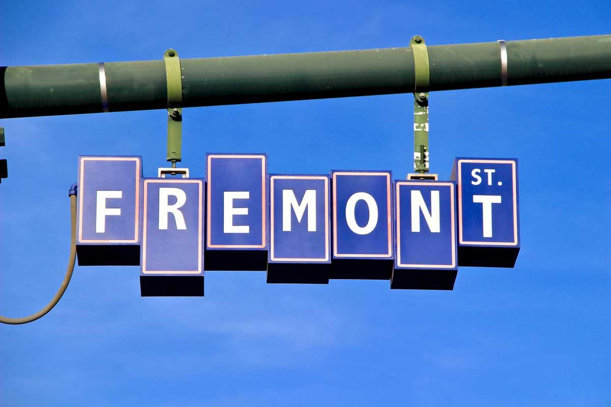 Fremont Steet panneau