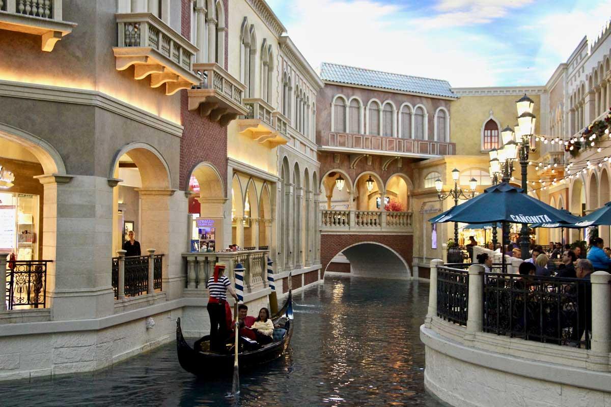 Gondole Venezzian Las Vegas