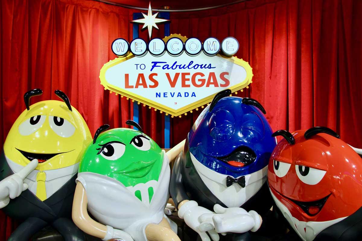 M&Ms Las Vegas