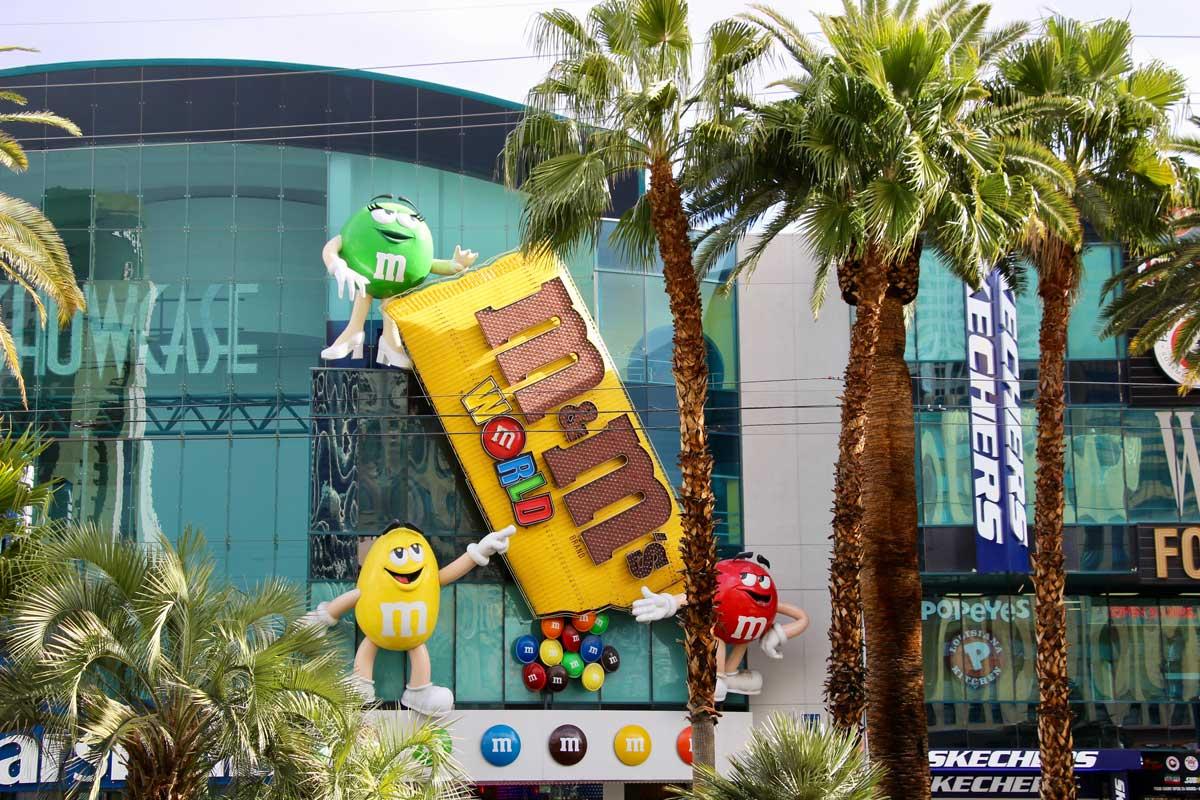 Magasin M&Ms Las Vegas