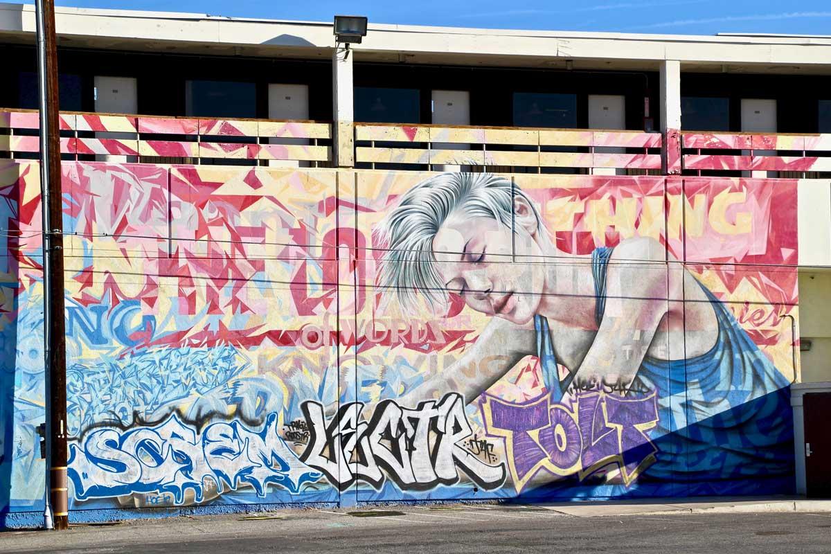 Street Art Fremont Street Las Vegas