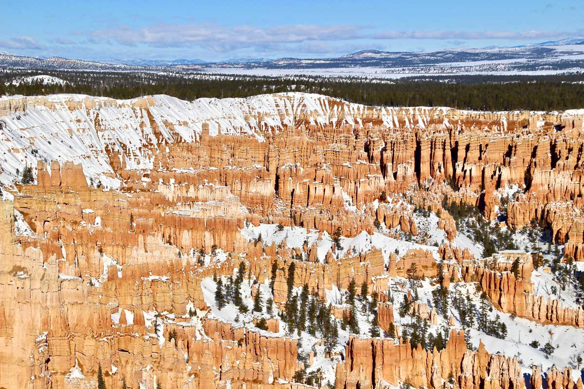 bryce canyon hiver ouest americain