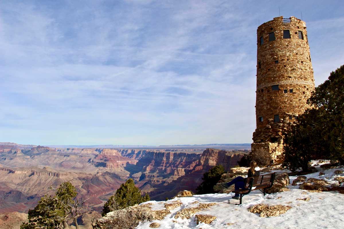 desert view grand canyon usa