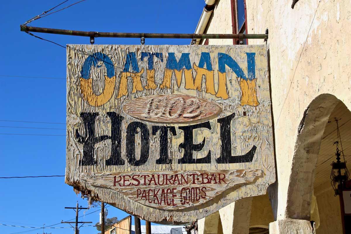 hotel oatman route 66