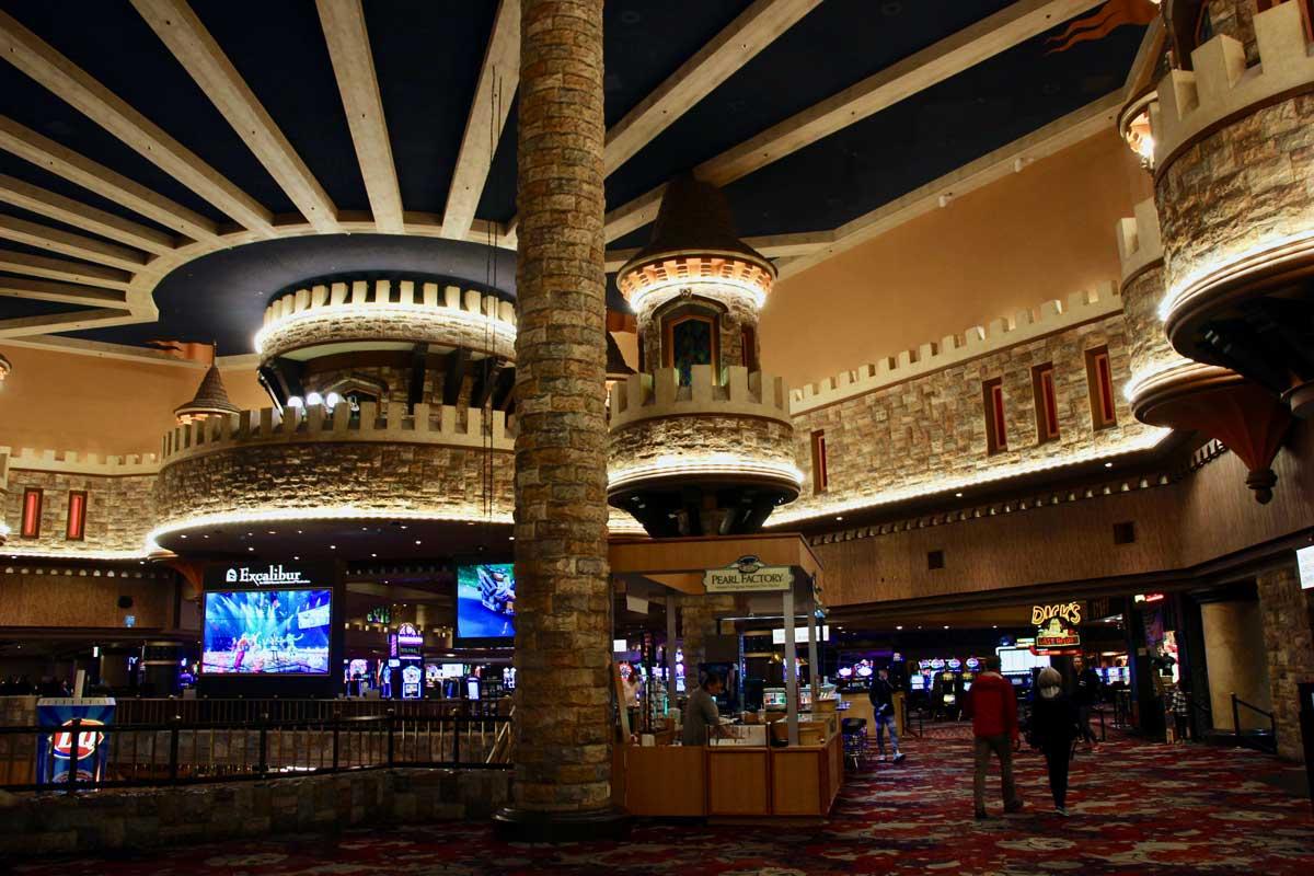 interieur Excalibur Las Vegas