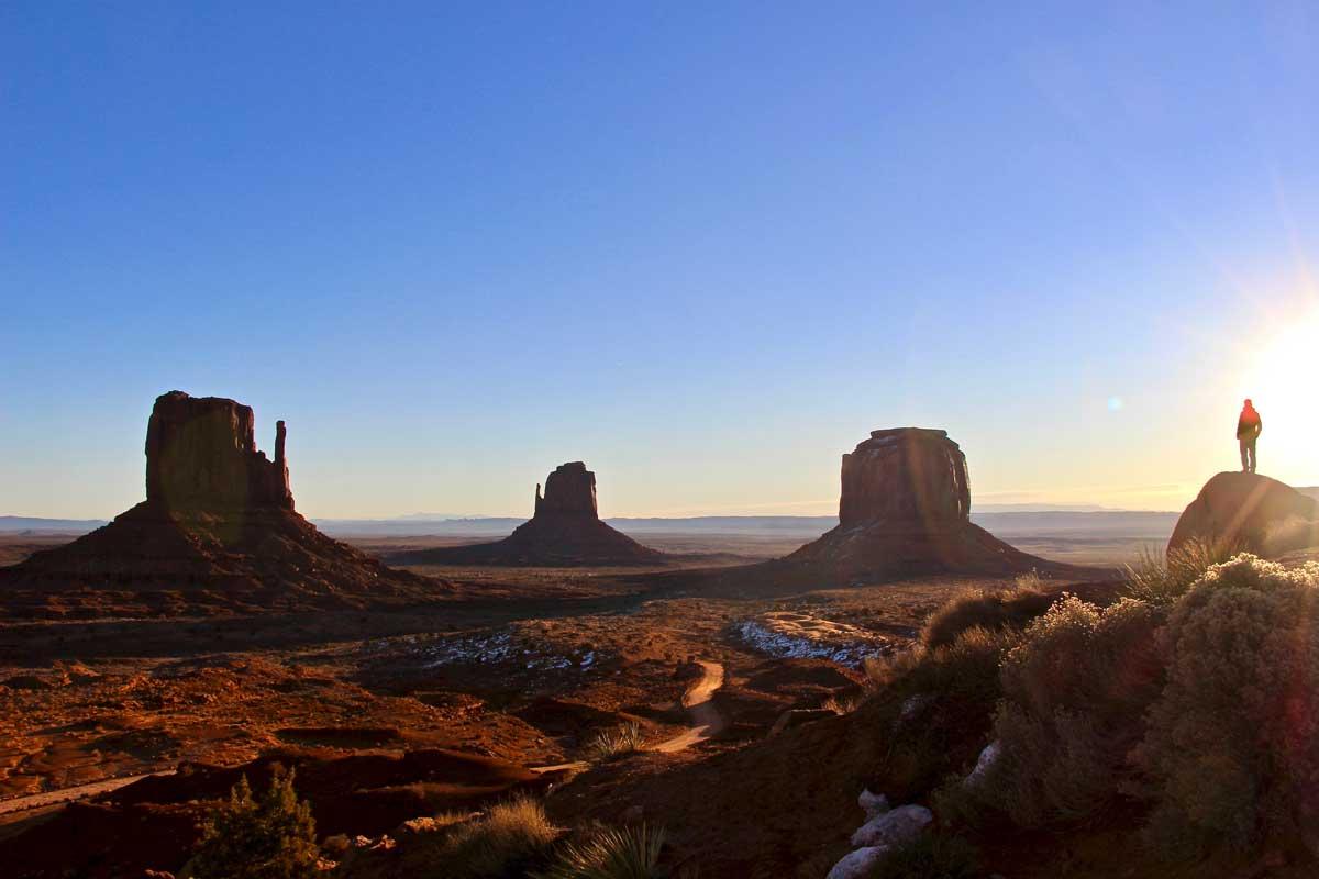 lever de soleil monument valley
