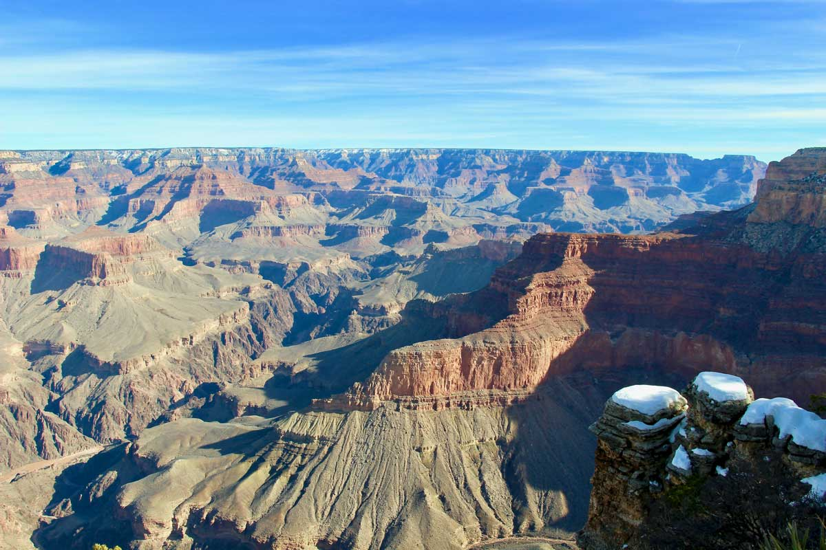 panorama grand canyon usa