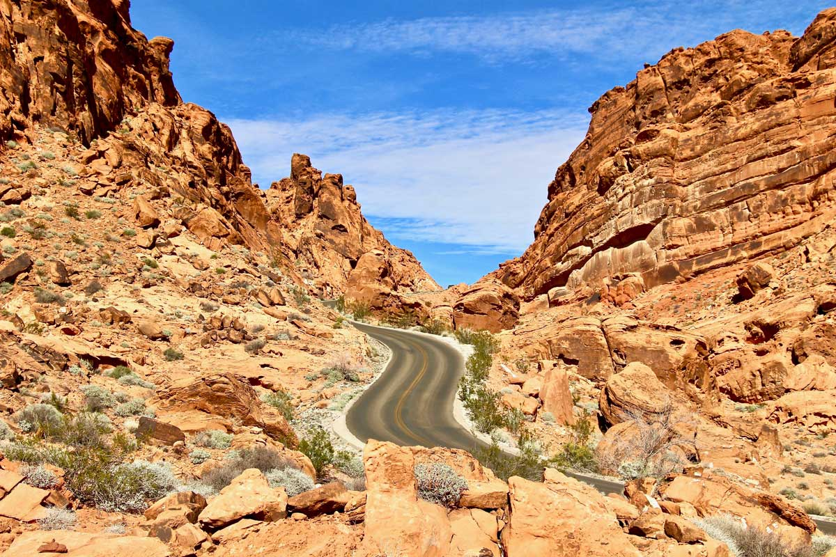 valley of fire ouest usa
