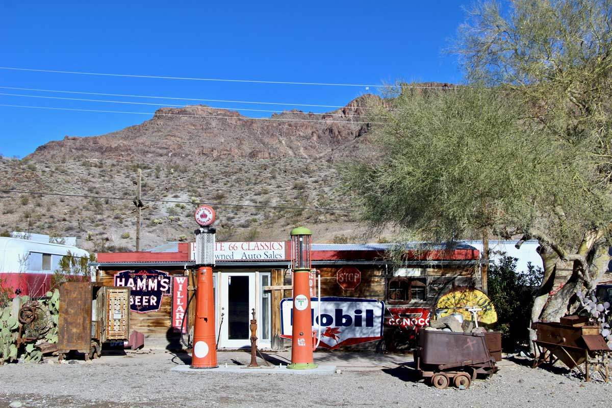 station essence Oatman route 66