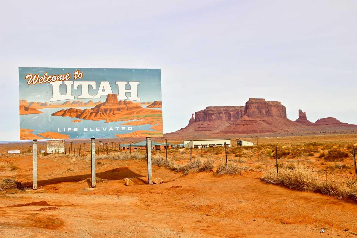 utah monument valley