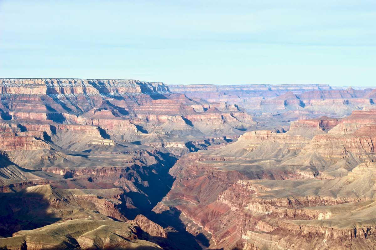 vue impressionnante grand canyon usa