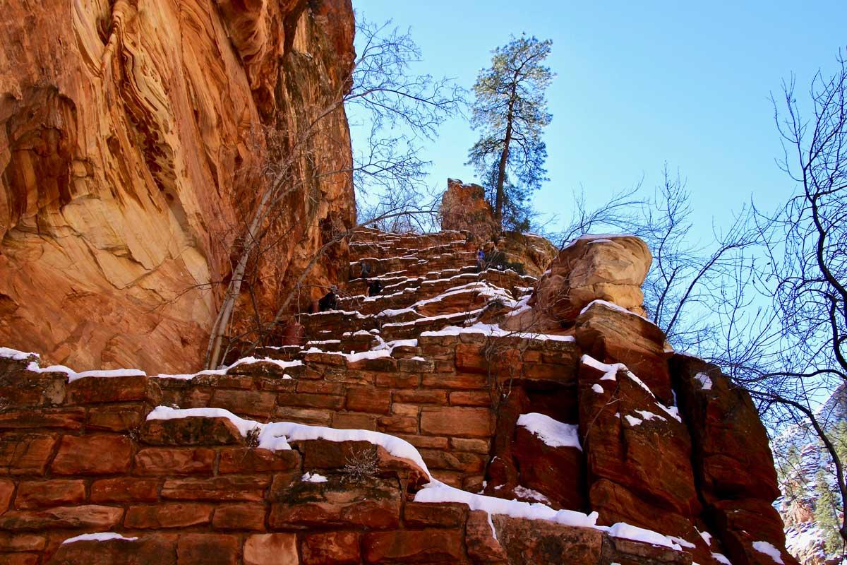 escaliers angel landings