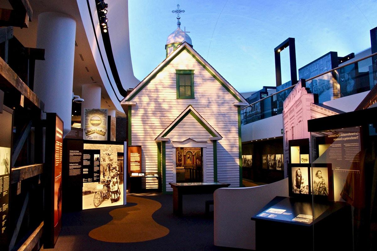 Musée canadien de l'Histoire du Canada à Ottawa