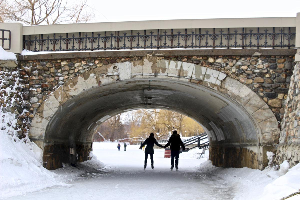 Canal Rideau patinoire Ottawa
