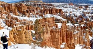 visiter bryce canyon en hiver usa