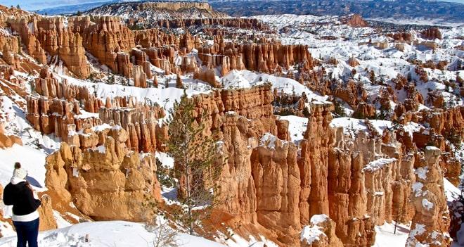 Visiter Bryce Canyon en hiver : coup de coeur assuré