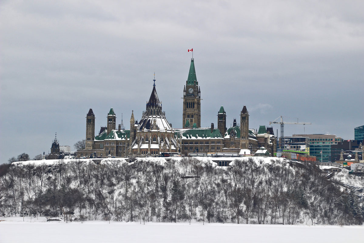 vue parlement ottawa musee histoire Canada
