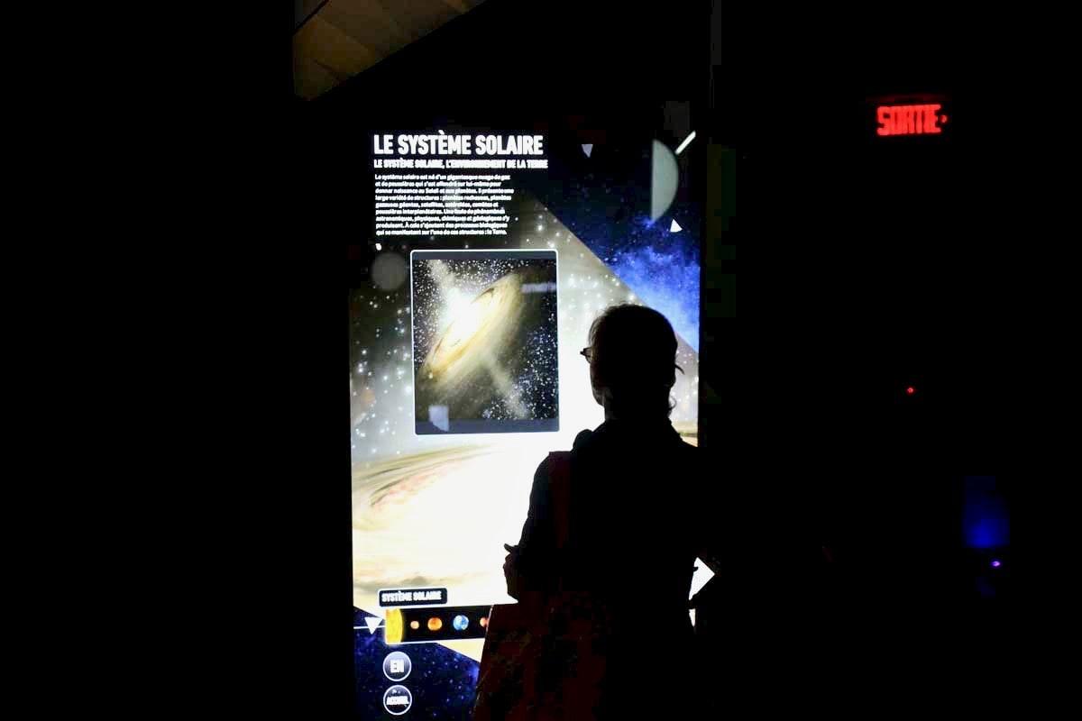 Découverte au Planetarium
