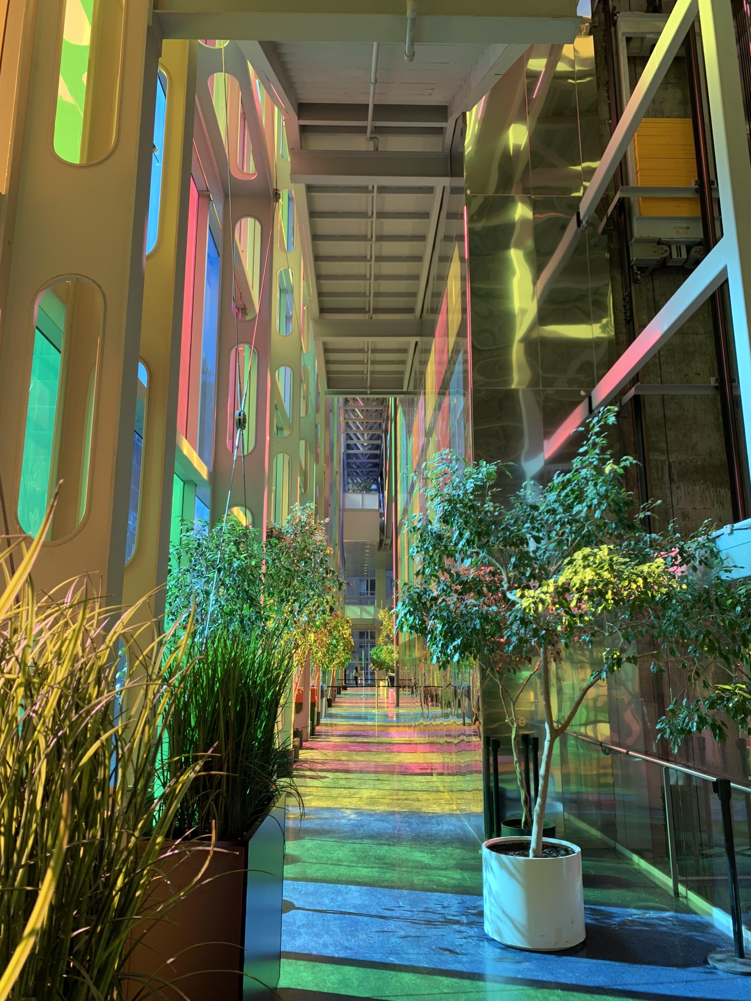 Intétieur Palais des Congrès Montréal