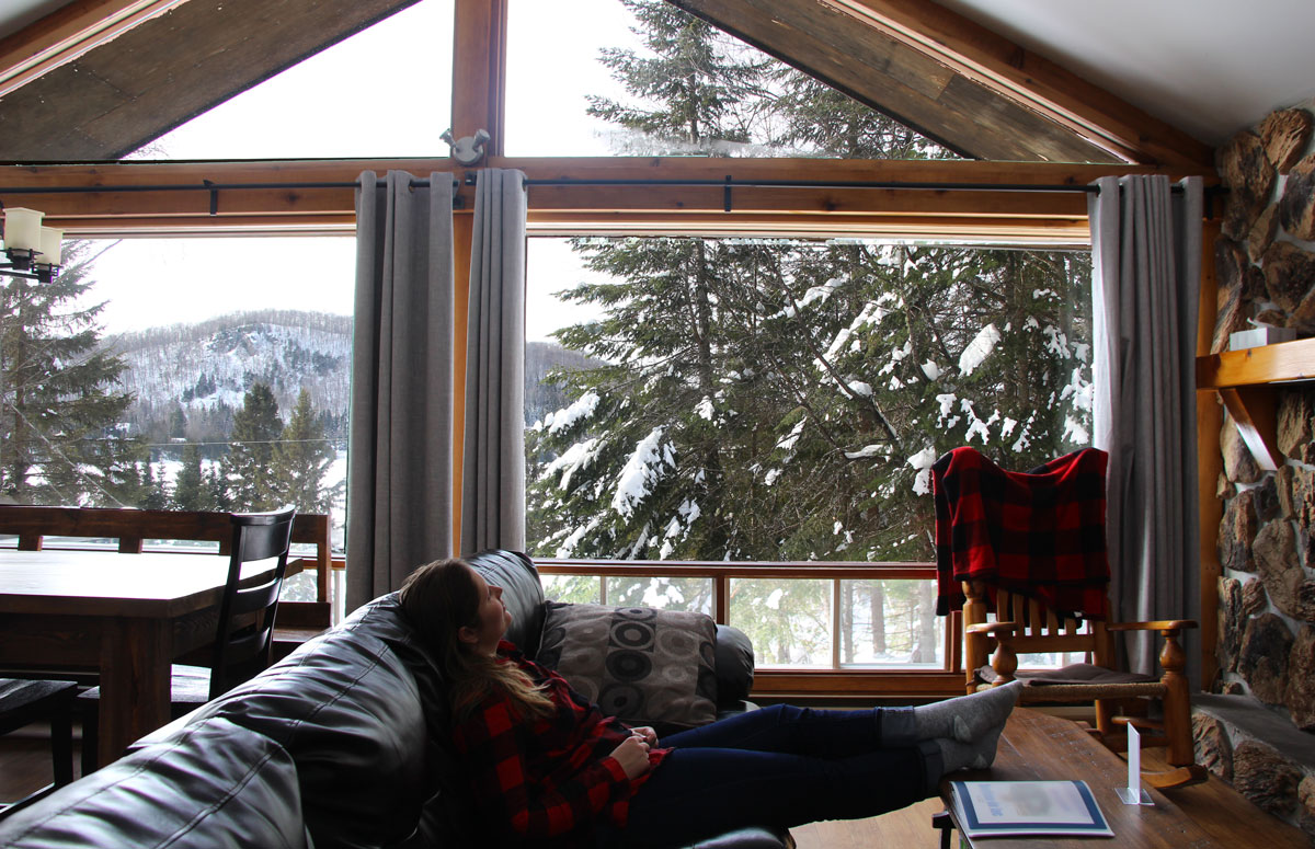 chalet Laurentides Airbnb