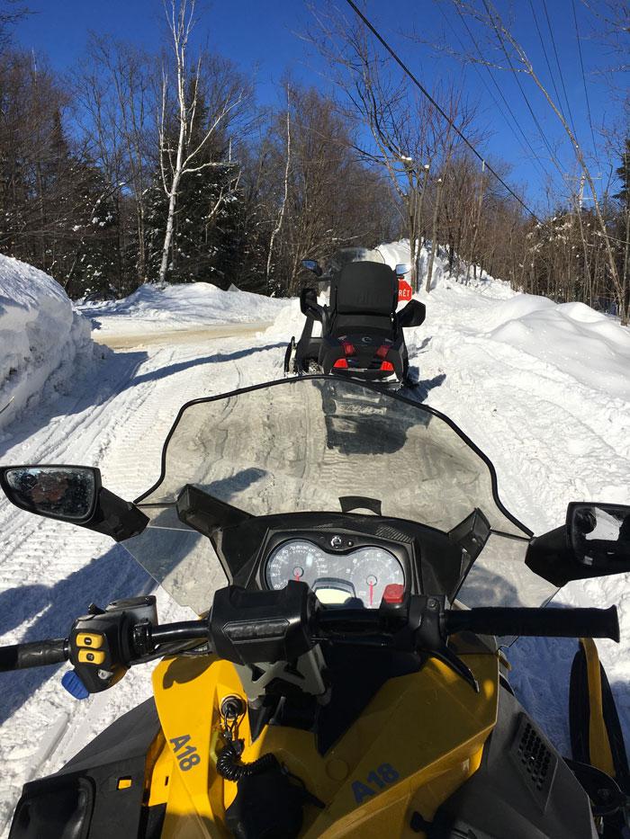 balade motoneige Arctic Aventure laurentides