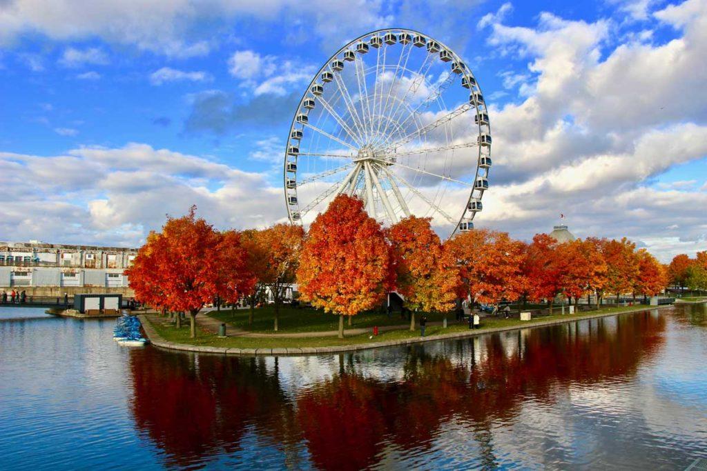 grande roue montreal automne