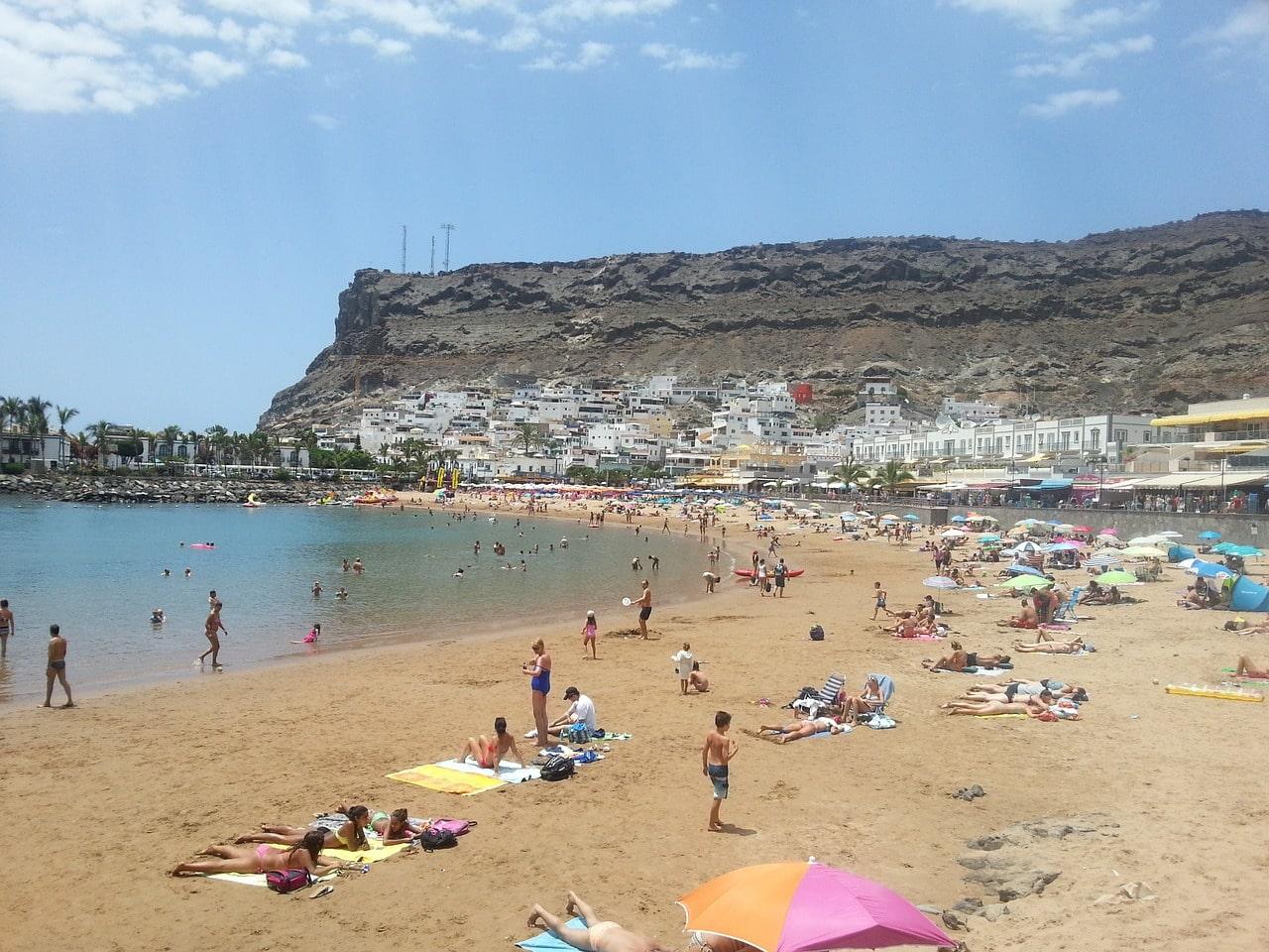 plage Puerto de Mogan