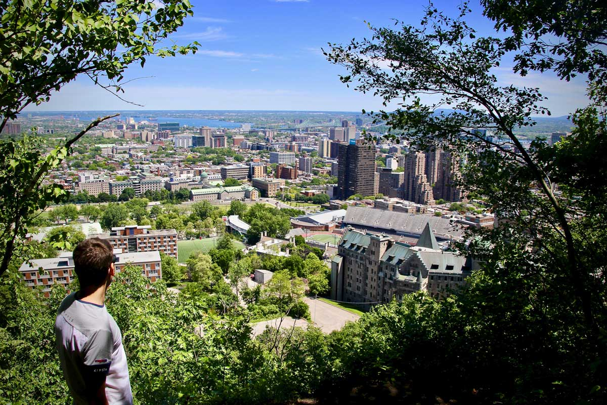 vue montreal mont royal