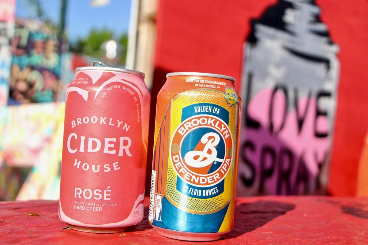 Biere et cidre Beergarden Brooklyn