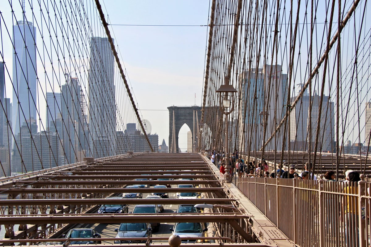 Brooklyn Bridge Structure Visiter Brooklyn en 2 jours