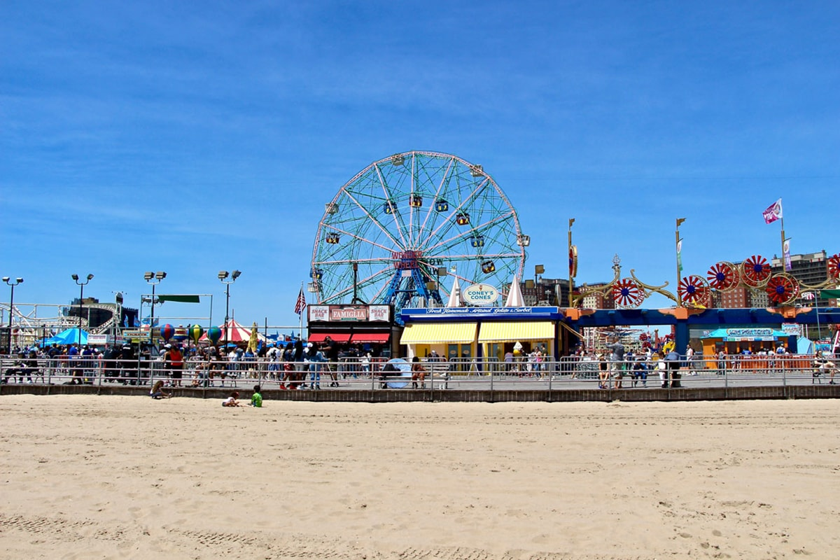 Coney Island New York Visiter Brooklyn en 2 jours