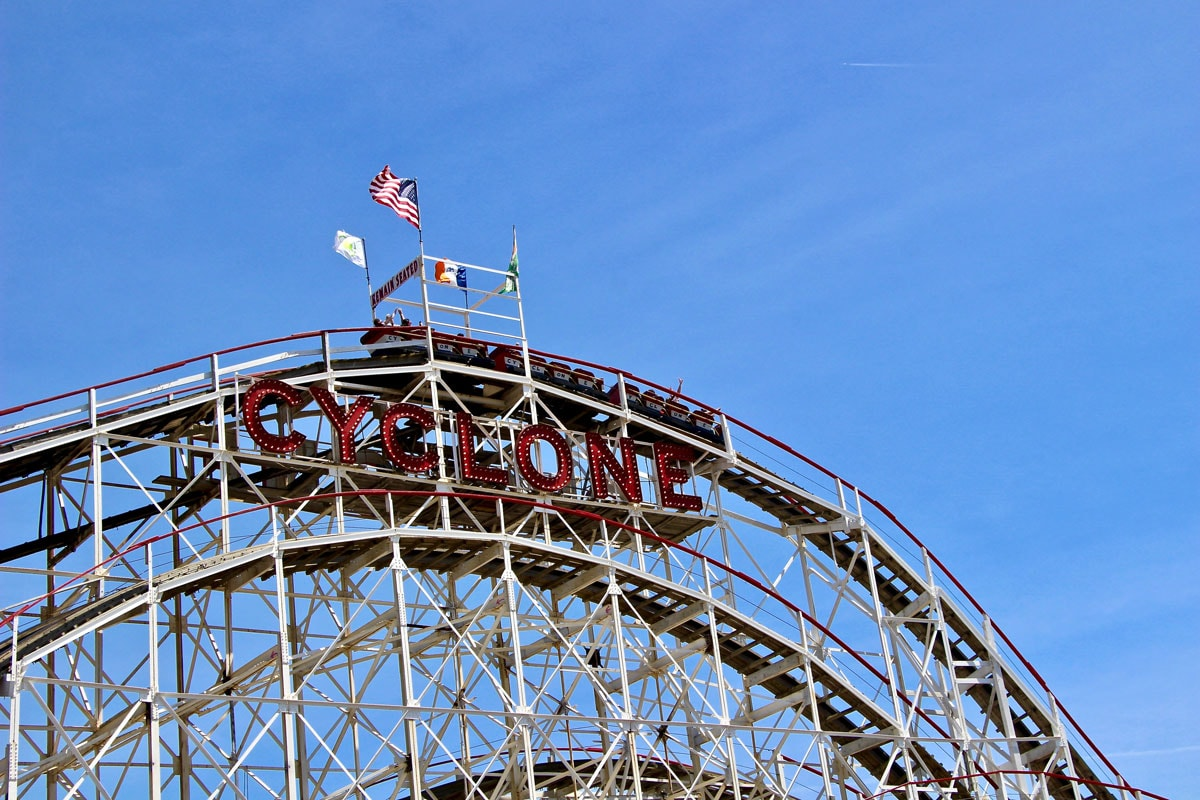 Cyclone manege Coney Island Brooklyn New York