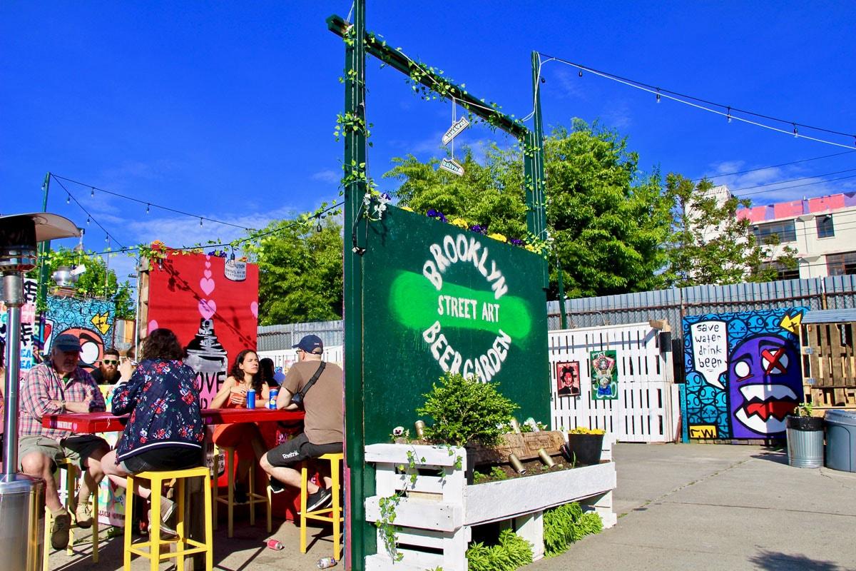 Installation Beergarden Visiter Brooklyn en 2 jours