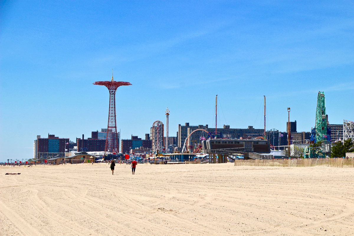 Parc d'attractions Coney Island New York Visiter Brooklyn en 2 jours