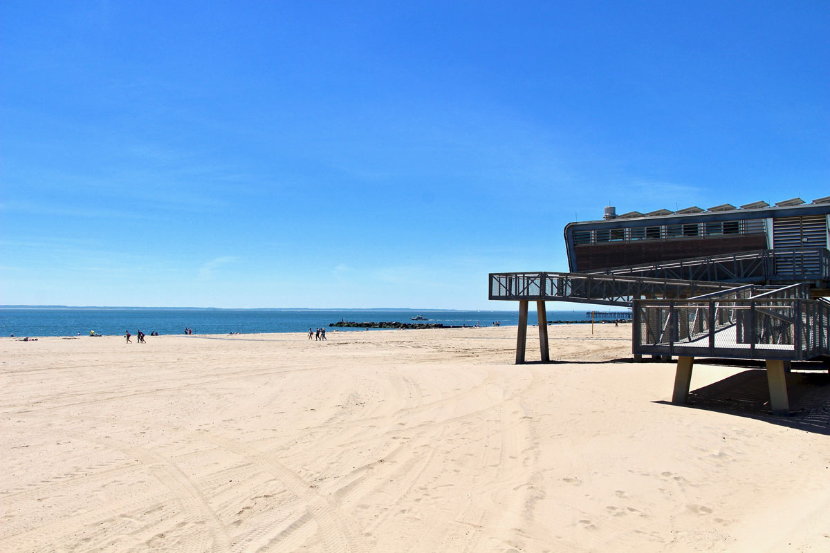 Plage Coney Island Brooklyn New York Visiter Brooklyn en 2 jours