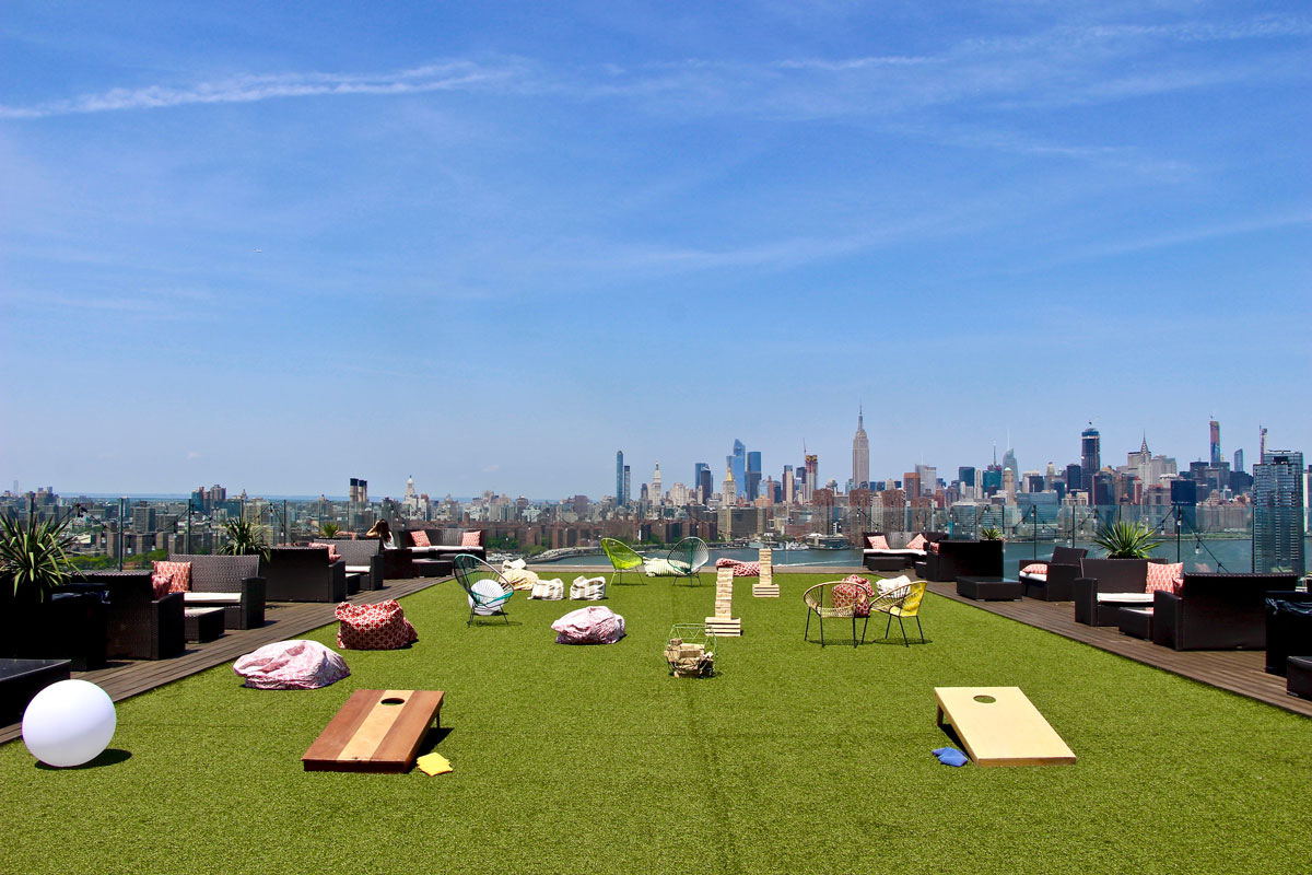 Rooftop hotel Brooklyn