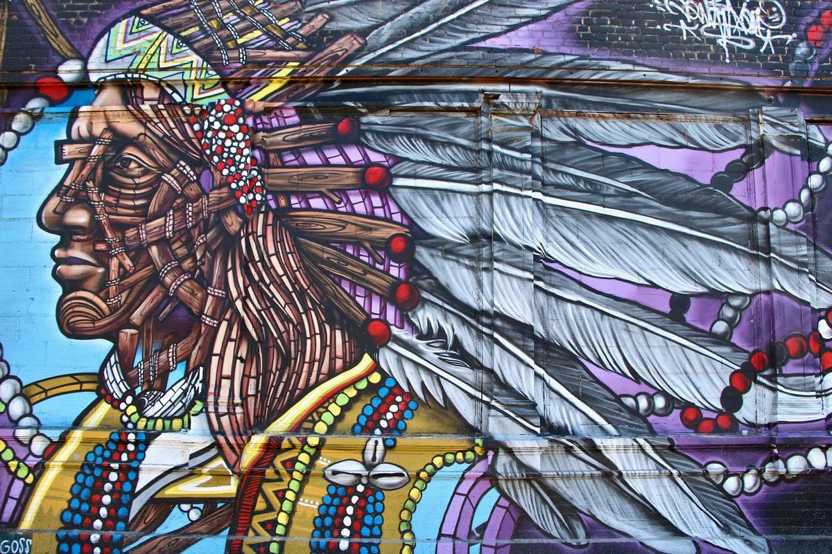 Street Art Art Urbain Indien New York Visiter Brooklyn en 2 jours