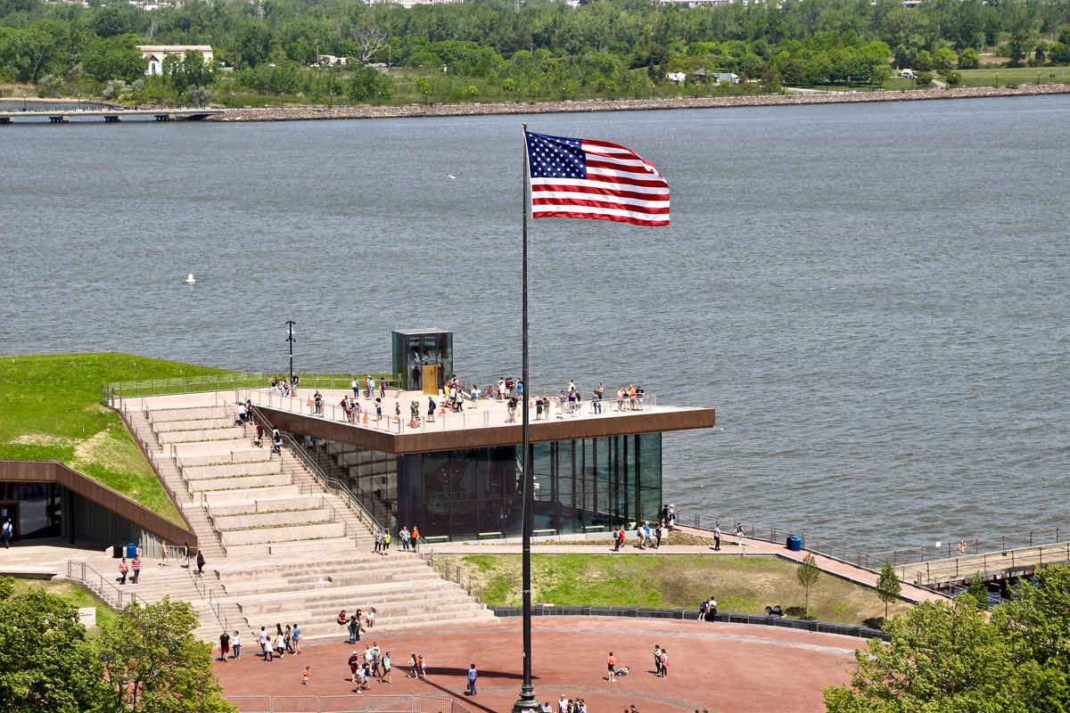 musée statue de la liberté