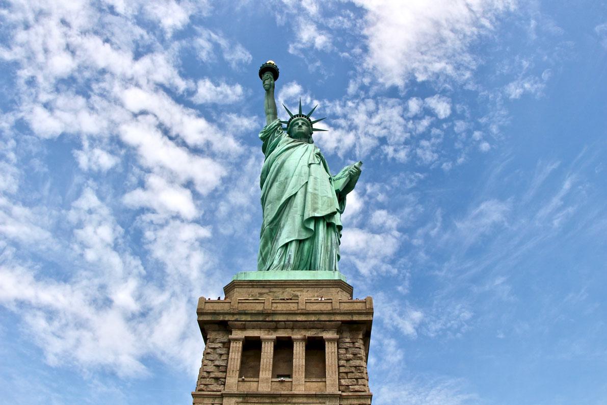 statue de liberte à new-york