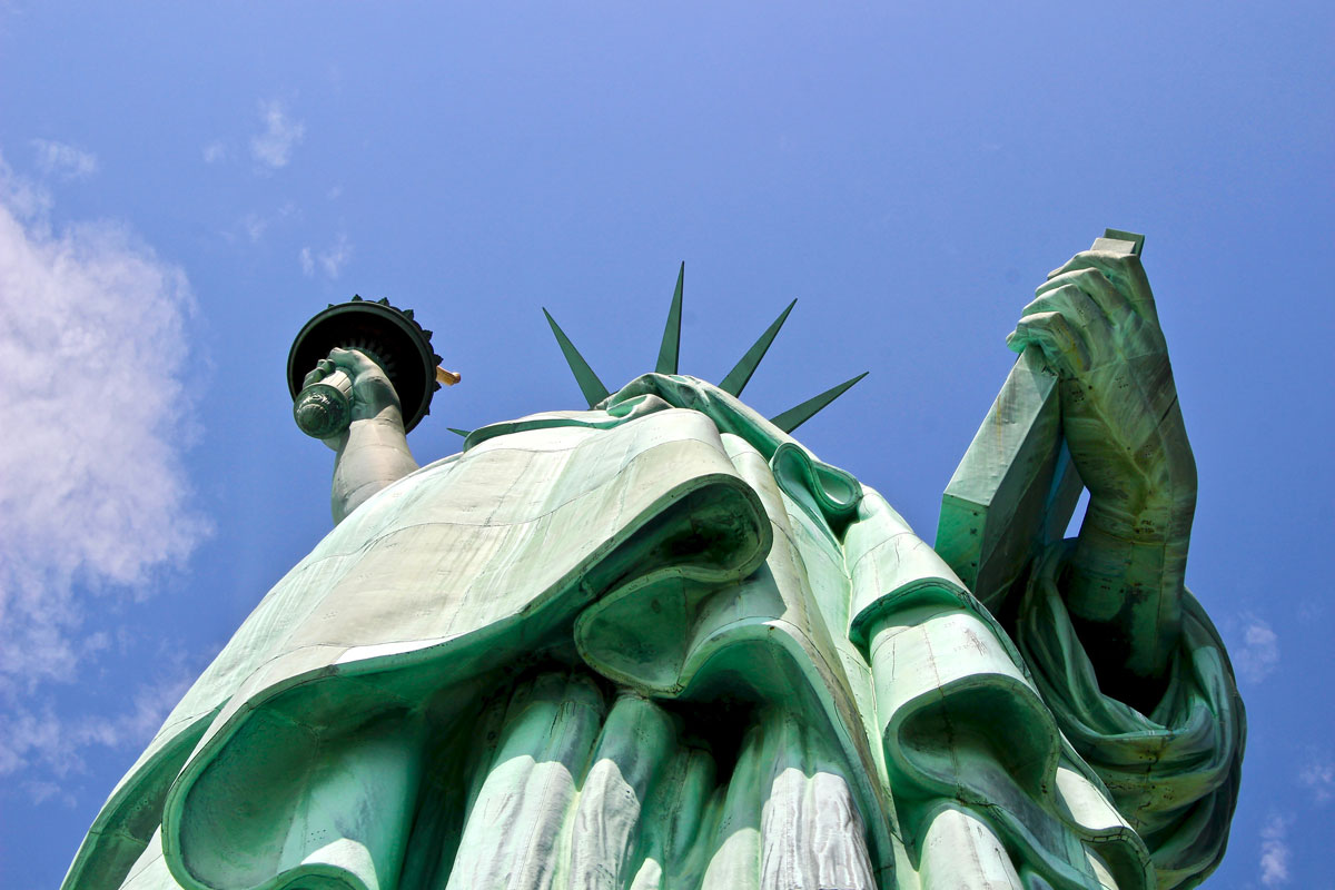vue statue liberte