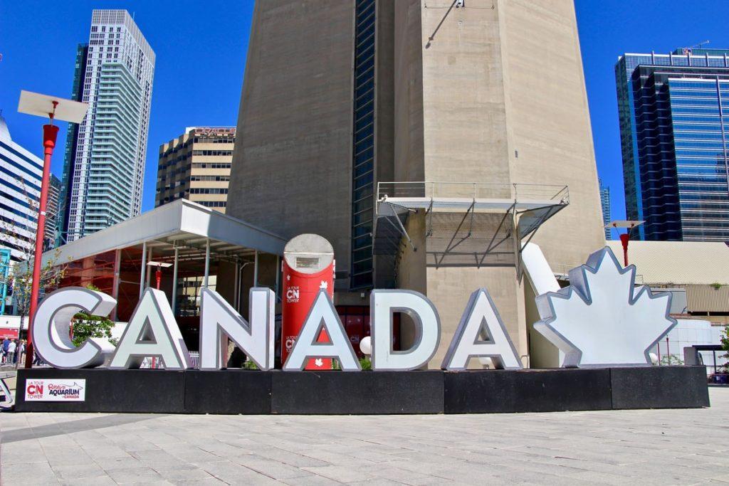 CANADA Lettres Toronto