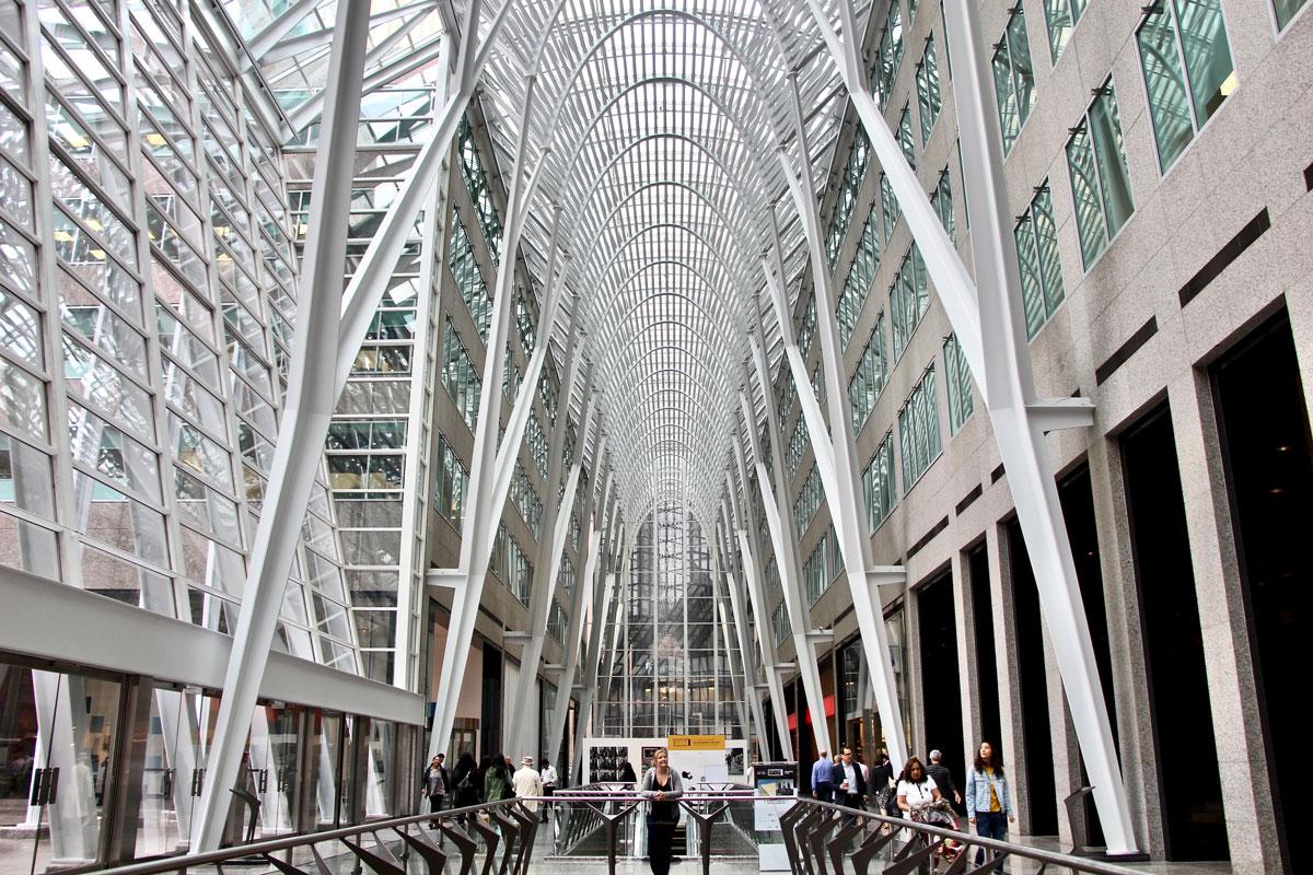 Hall Allen Lambert Galleria Toronto