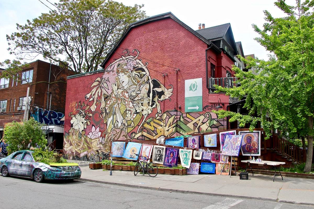 Rue Kensington Market Toronto