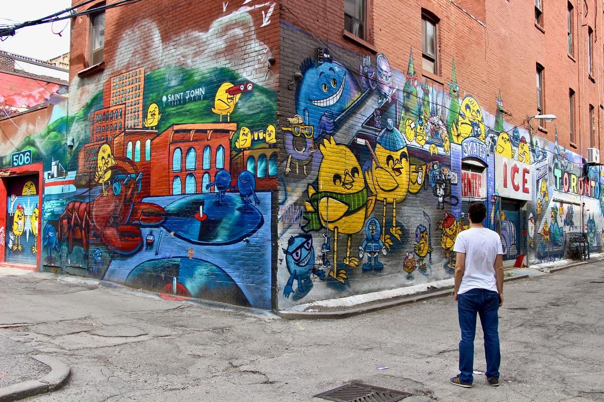 Tom Street Art Toronto