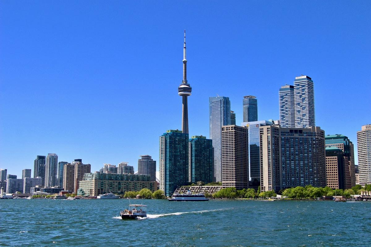 Vue de Toronto depuis le ferry