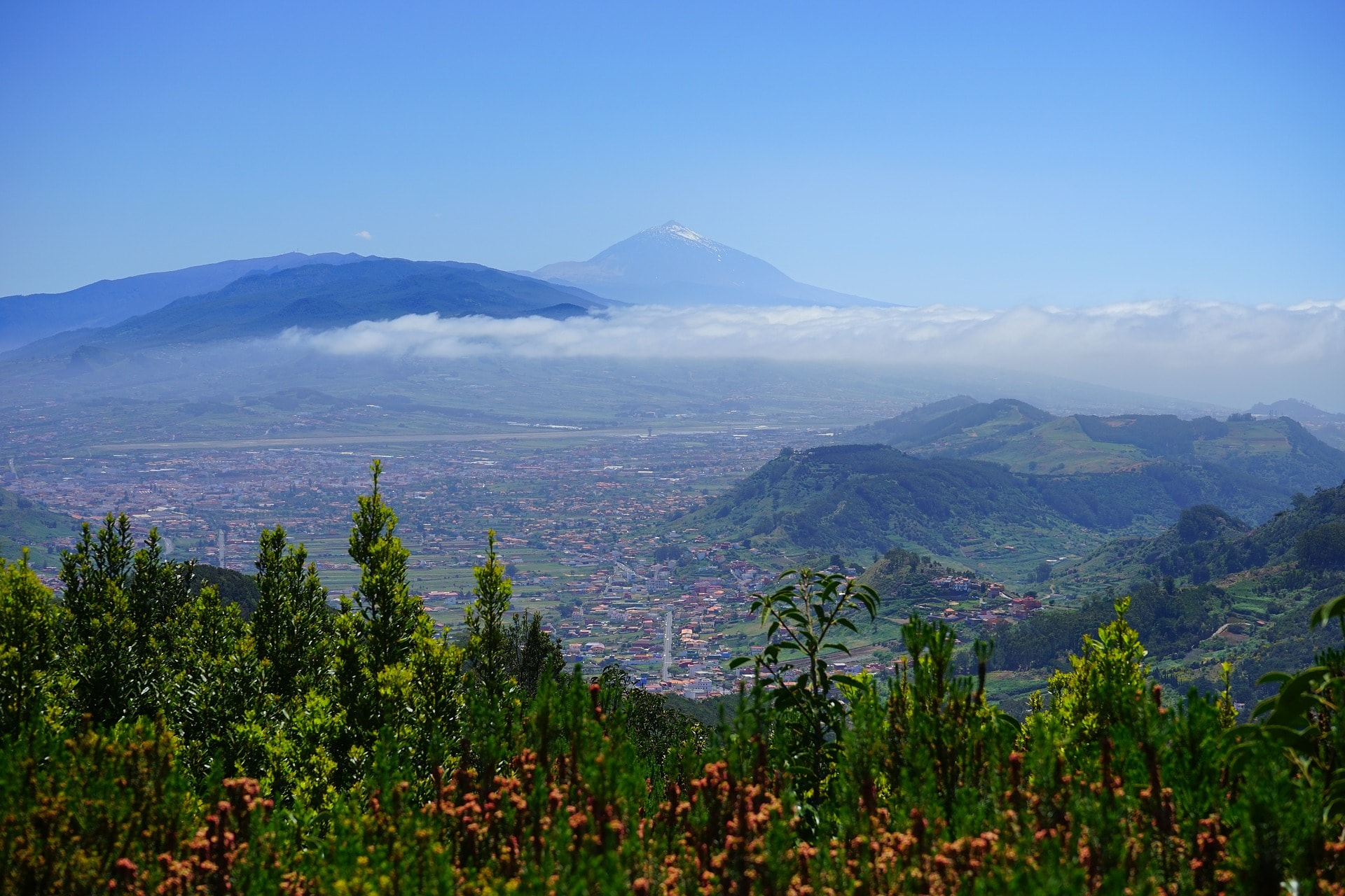 Panorama parc Teide Tenerife Canaries