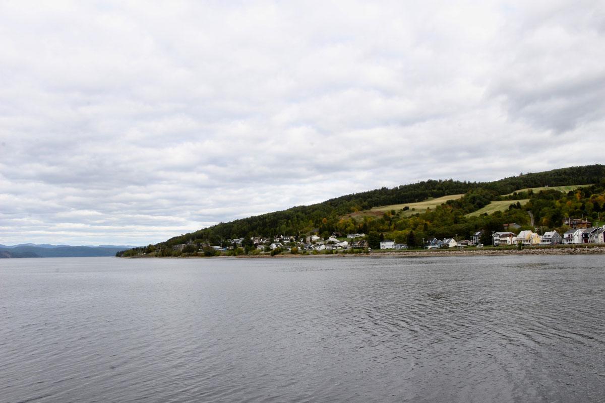 Baie des ha ha Fjord du Saguenay Quebec