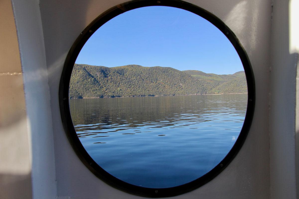 Balade en bateau Fjord-du-Saguenay Canada