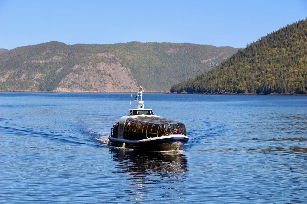Bateau Fjord-du-Saguenay Canada