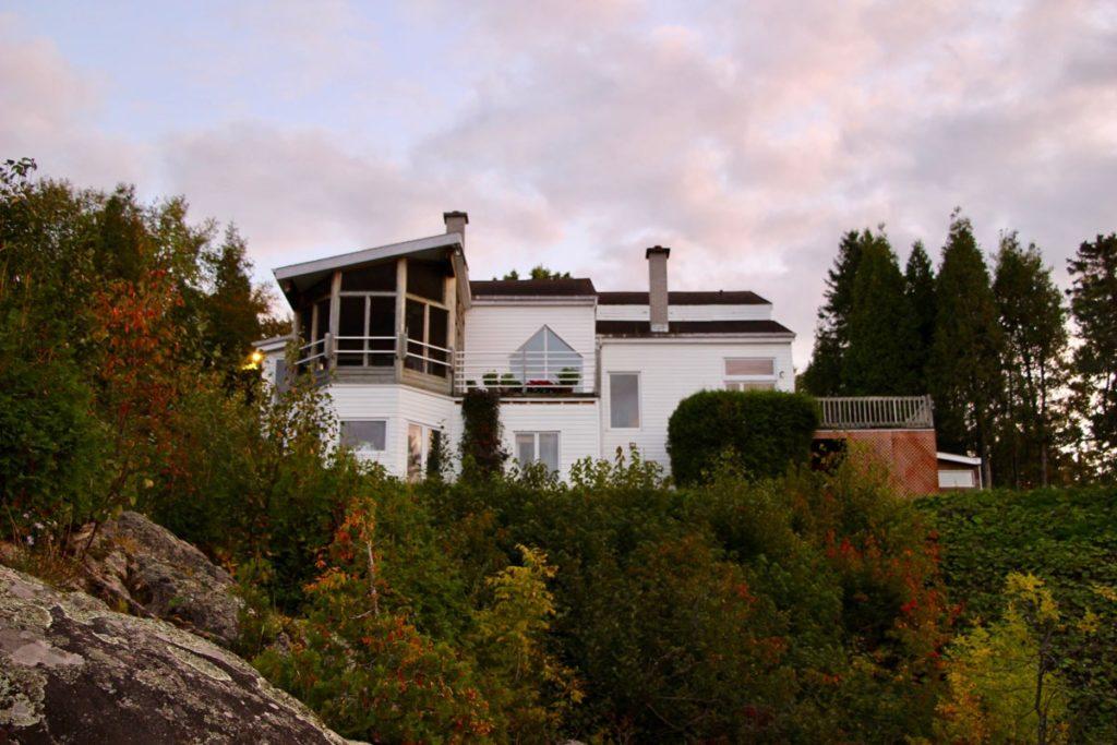 Chalet Fjord du Saguenay Quebec
